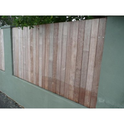 Fence & Deck Cleaning Before